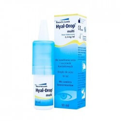 Hyal Drop Multi 10ml - krople do oczu, kategoria Krople do oczu, cena 31,00 zł - 295-KROPLEDOOCZU